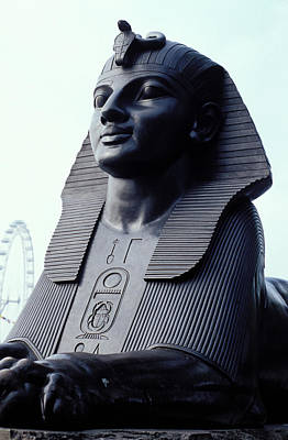 Sphinx In London Art Print by Carl Purcell