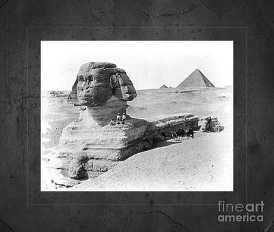 Photograph - Sphinx Pyramid Eqypt by John Stephens