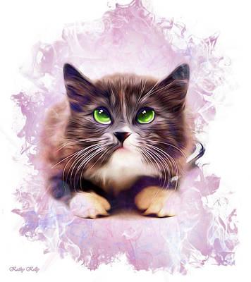 Spice Kitty Art Print