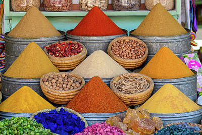 Photograph - Spice Market by Christian Heeb