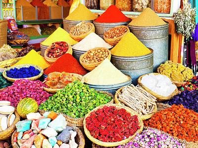 Photograph - Spice Merchant Marrakech by Dominic Piperata