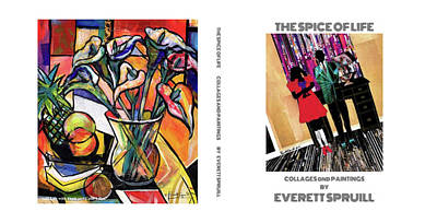 Mixed Media - Spice Of Life Book Cover by Everett Spruill
