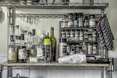 Photograph - Spice Rack by Digiblocks Photography