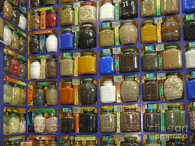 Photograph - Spice Rack by Richard Deurer
