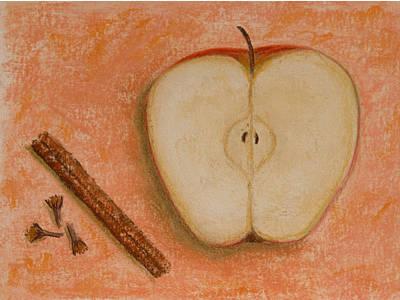 Spiced Apple Art Print