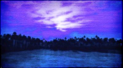 Digital Art - Spider Isle At Night... by Tim Fillingim