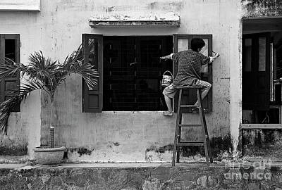 Photograph - Spider Man Lands In Vietnam by Craig Lovell