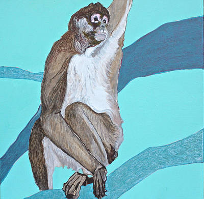 Spider Monkey Art Print