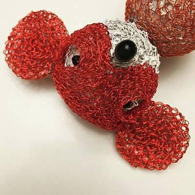 Mixed Media - Spider Mouse by Marita Valdizan