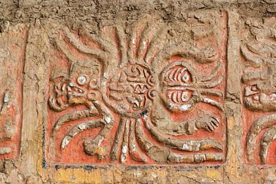 Mochica Photograph - Spider Mural In Peru by Jess Kraft