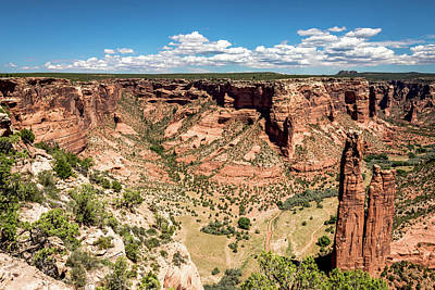 Photograph - Spider Rock - Canyon De Chelly by Debra Martz