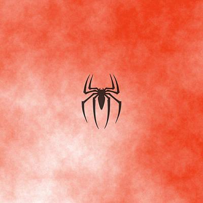 Spiderman Logo Print by Comic Memories