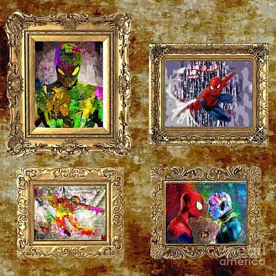 Spidey Gallery Art Print