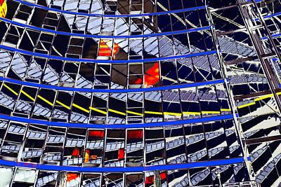 Painting - Spiegeling by Arie Van Garderen