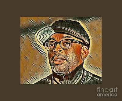 Spike Lee Art Art Print by Pd