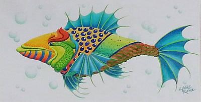 Drawing - Spike by Lynne Renzenberger