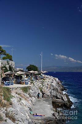 Photograph - Spilia Swimming Area In Hydra Island by George Atsametakis
