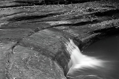 Starved Rock Wall Art - Photograph - Spill by Jason Wolters