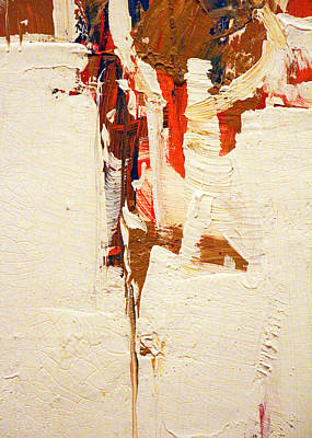 Painting - Spill by Munir Alawi