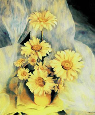 Pastel - Spilling Sunlight Impressionism by Georgiana Romanovna