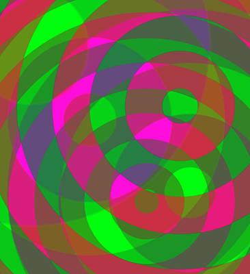 Digital Art - Spin 2 by Julia Woodman