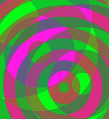 Digital Art - Spin 3 by Julia Woodman