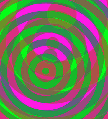 Digital Art - Spin 4 by Julia Woodman