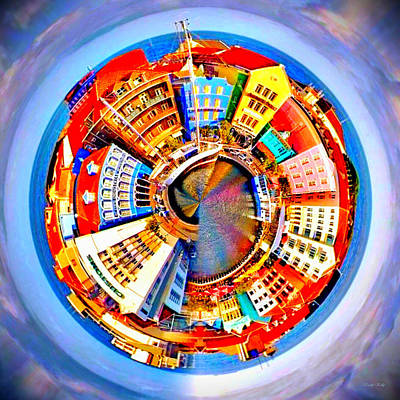 Art Print featuring the photograph Spin City by Kathy Kelly