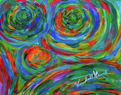 Painting - Spin by Kendall Kessler