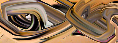 Digital Art - Spin Out by Phillip Mossbarger