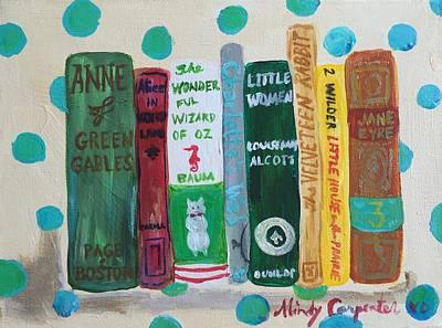 Painting - Spine Language by Mindy Carpenter