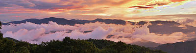 Photograph - Spine Of The Smokies by Alan Lenk