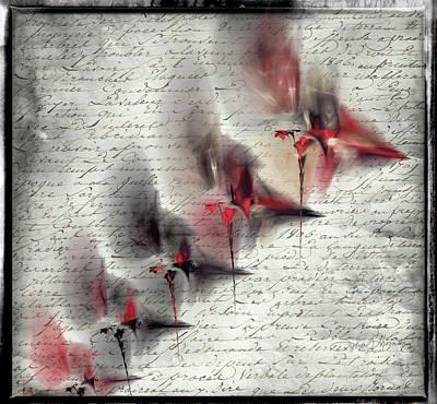 Digital Art - Spinnerettes by Sylvia Thornton