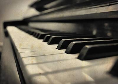 Photograph - Spinet by JAMART Photography