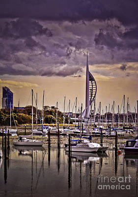 Photograph - Spinnaker Tower From Priddy's Hard by Terri Waters