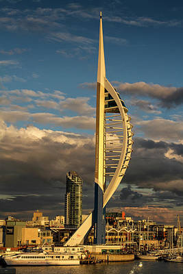 Photograph - Spinnaker Tower by Shirley Mitchell