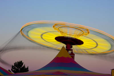 Photograph - Spinner by Joel Gilgoff
