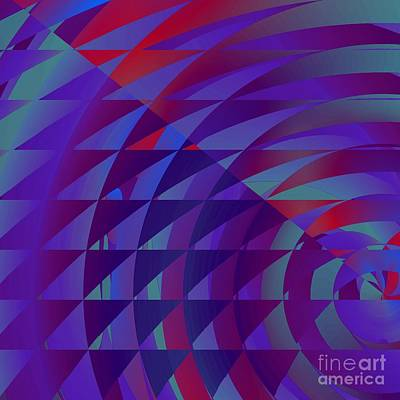 Digital Art - Spinning Abstractly 1 by Mary Machare