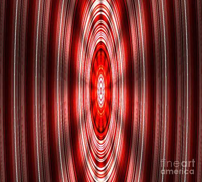 Spinning Art Print by Brent Sisson