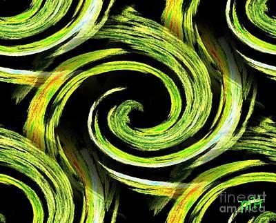 Digital Art - Spinning by Marsha Heiken