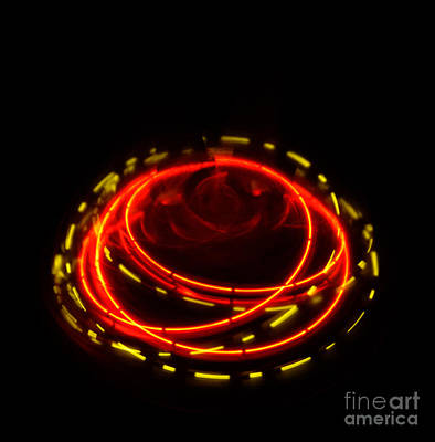 Abstract Movement Photograph - Spinning Top by Balanced Art