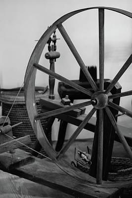 Spinning Wheel At Mount Vernon Art Print