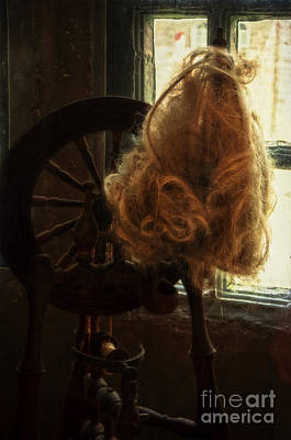Photograph - Spinning Wheel by Debra Fedchin