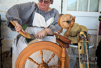Photograph - Spinning Wheel by Jim West