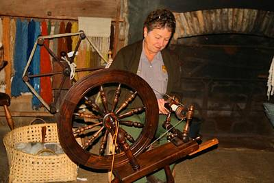 Photograph - Spinning Wheel by Kathryn Meyer