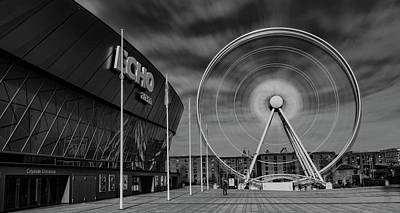 Albert Dock Photograph - Spinning Wheel Of Liverpool by Paul Madden