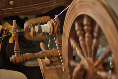Photograph - Spinning Wool by Scott Carlton