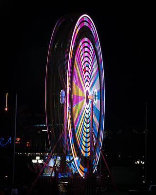 Photograph - Spinnng Lights by Mark Dodd