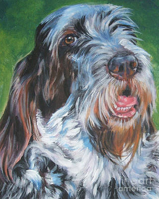 Spinone Italiano Portrait Art Print
