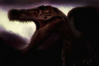 Photograph - Spinosaurus - Dinosaur - Cretaceous by Jason Politte